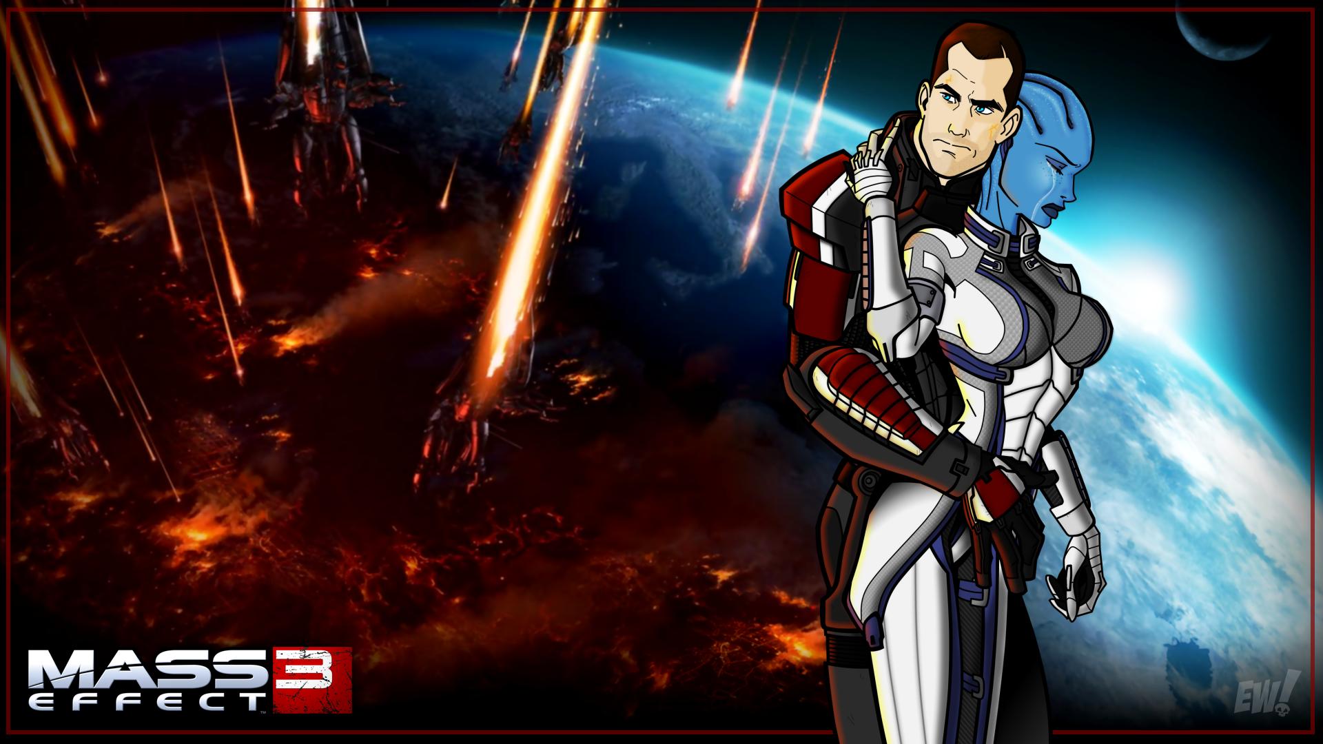 Mass Effect 3 Wallpaper: Mass Effect 3 HD Wallpaper