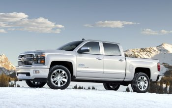 Vehículos - 2013 Chevrolet Silverado High Country Crew Cab Wallpapers and Backgrounds ID : 402292