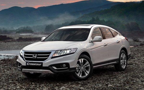Vehicles Honda Crosstour Honda Car Silver Car HD Wallpaper   Background Image