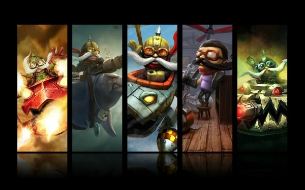 Video Game League Of Legends Corki HD Wallpaper | Background Image