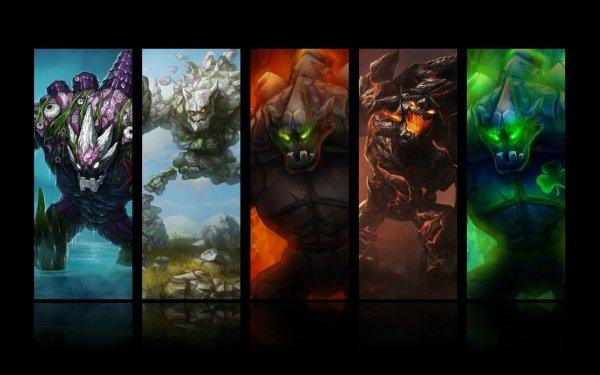 Videojuego League Of Legends Malphite Fondo de pantalla HD   Fondo de Escritorio