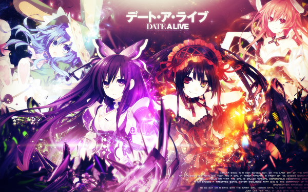 Anime - date a live Wallpapers and Backgrounds