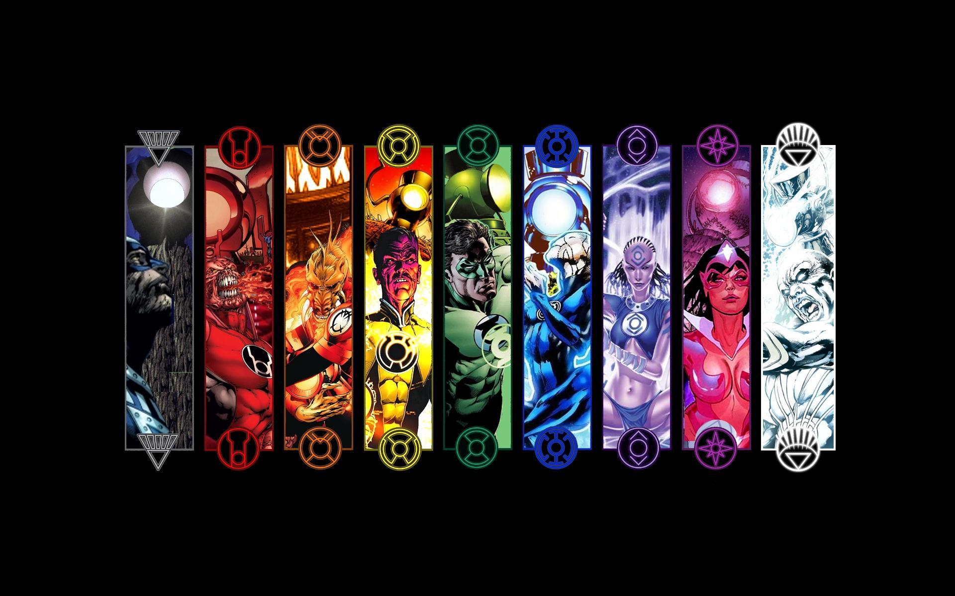 DC Comics Lantern Corps
