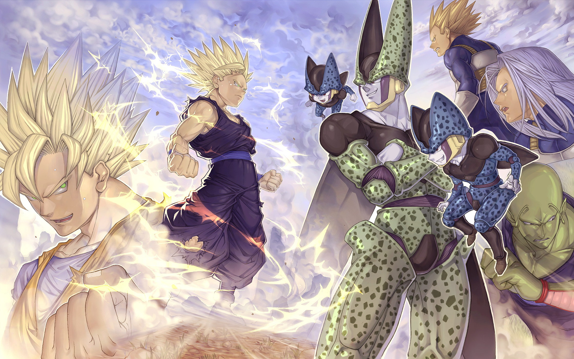 662 dragon ball z hd wallpapers | background images - wallpaper abyss