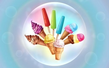 CGI - Ice Cream Wallpapers and Backgrounds ID : 403520