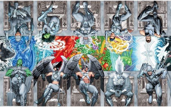 Comics Brightest Day Martian Manhunter Hawkgirl Hawkman Aquaman Jade Captain Boomerang Shiera Sanders Flash Carter Hall Maxwell Lord Deadman Firestorm Hawk Barry Allen HD Wallpaper | Background Image