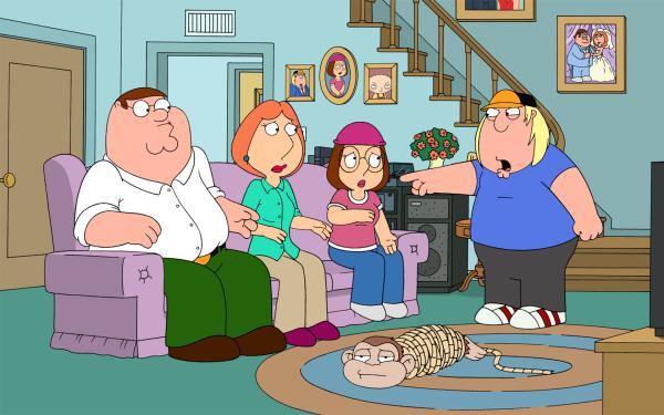 TV Show Family Guy Peter Griffin Lois Griffin Meg Griffin Chris Griffin HD Wallpaper | Background Image