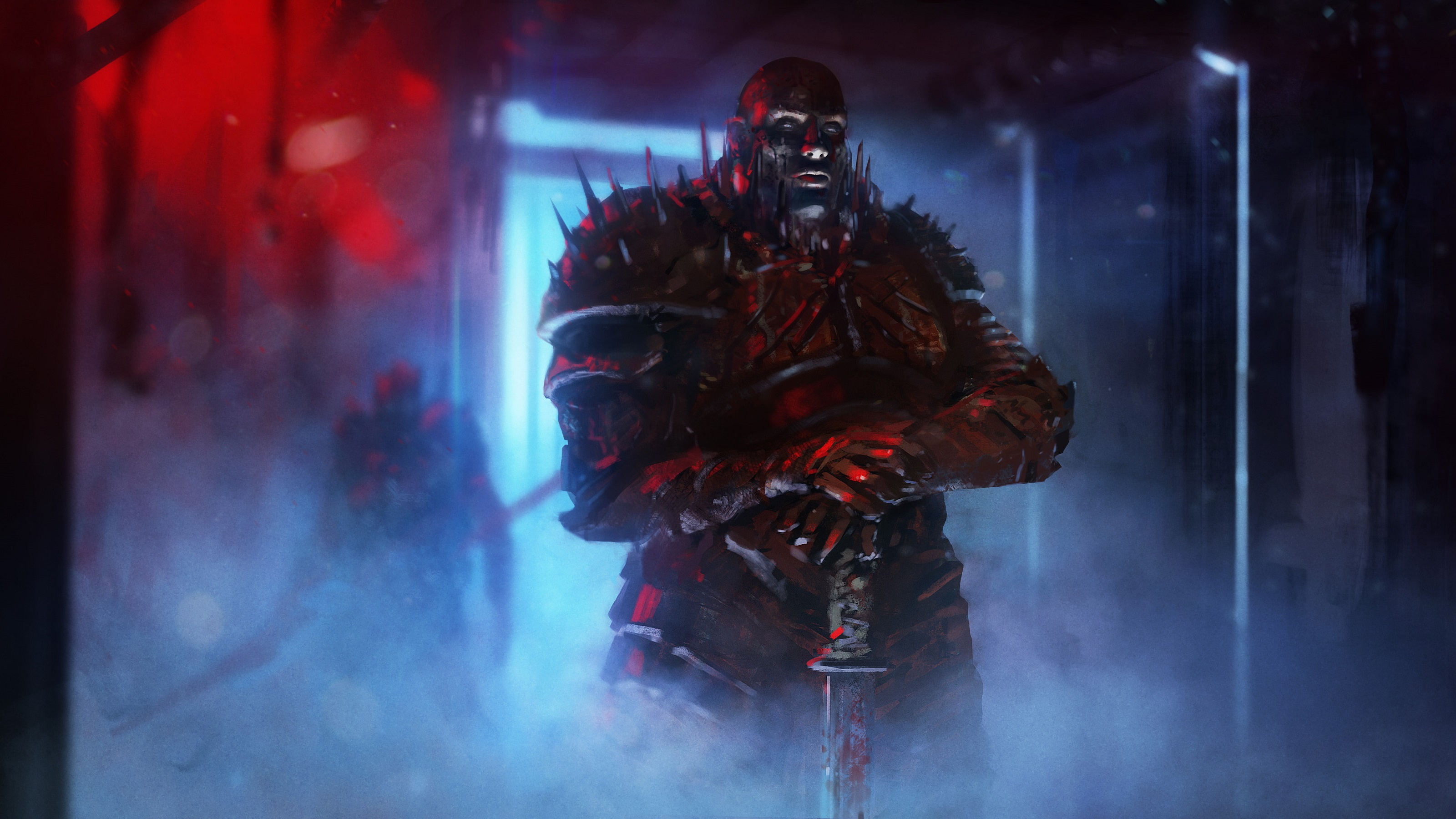 Warrior Hd Wallpaper Background Image 3200x1800 Id 405544