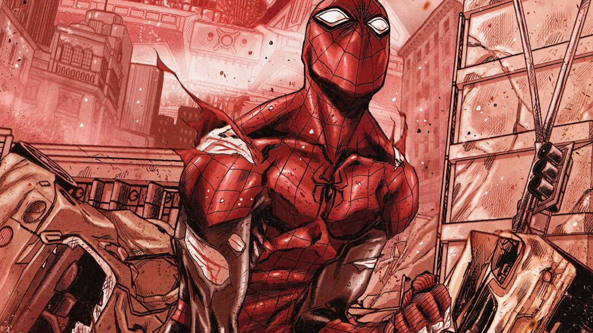 The Superior Spider Man Hd Wallpaper Background Image 1920x1080