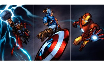 Comics - The Avengers Wallpapers and Backgrounds ID : 405167