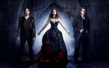 Televisieprogramma - The Vampire Diaries Wallpapers and Backgrounds ID : 405353