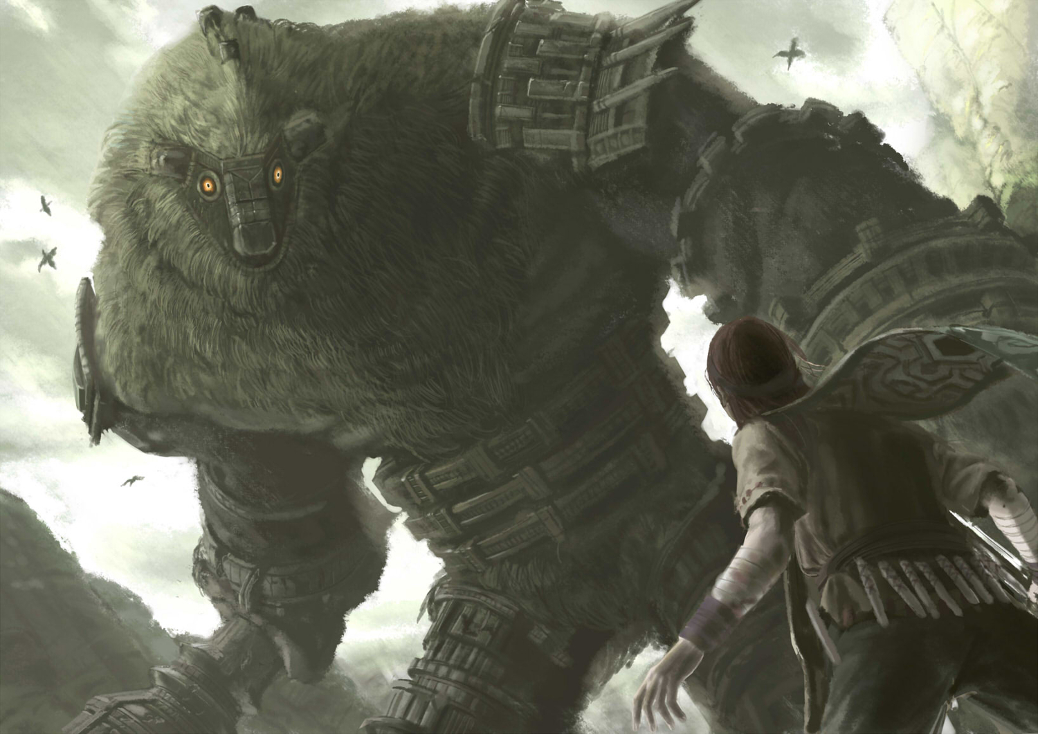 shadow of the colossus wallpaper iphone
