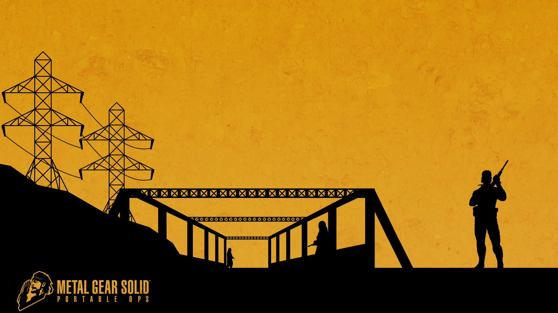 Metal Gear Solid: Portable Ops HD Wallpaper