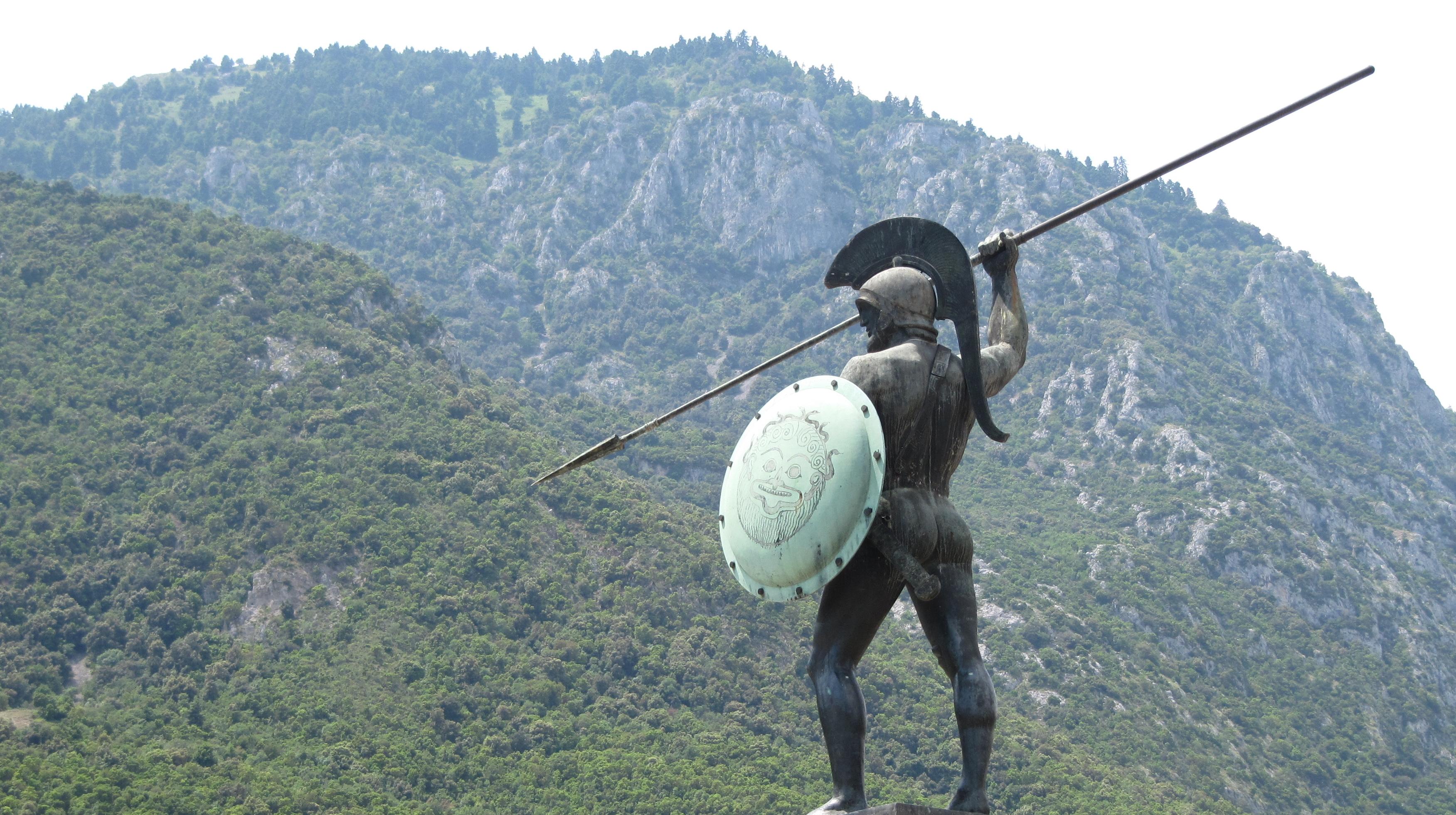 Leonidas Monument Fond Décran Hd Arrière Plan 3503x1960 Id
