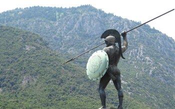 1 Leonidas Monument Fondos De Pantalla Hd Fondos De