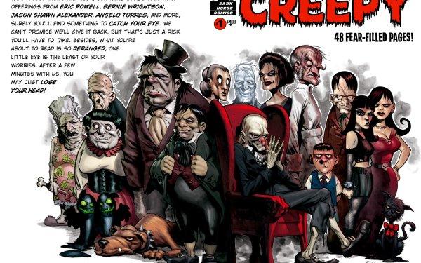 Comics Creepy Comics HD Wallpaper   Background Image
