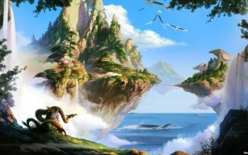 Fantasy - Landscape Wallpapers and Backgrounds ID : 407471