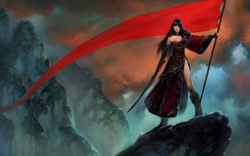 Fantasy - Women Warrior Wallpapers and Backgrounds ID : 407753