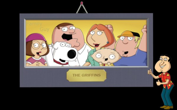 TV Show Family Guy The Griffins Stewie Griffin Brian Griffin Peter Griffin Lois Griffin Chris Griffin Meg Griffin HD Wallpaper | Background Image