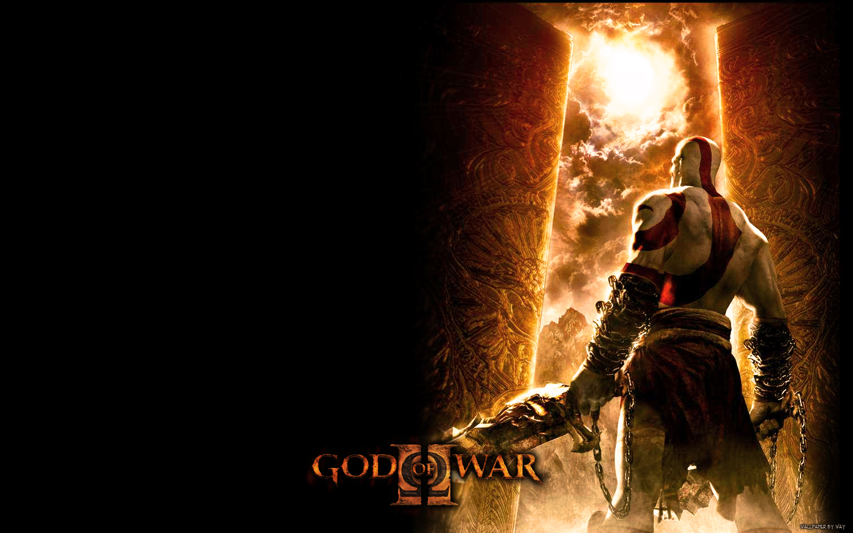 God Of War Wallpaper And Background Image 1680x1050 Id