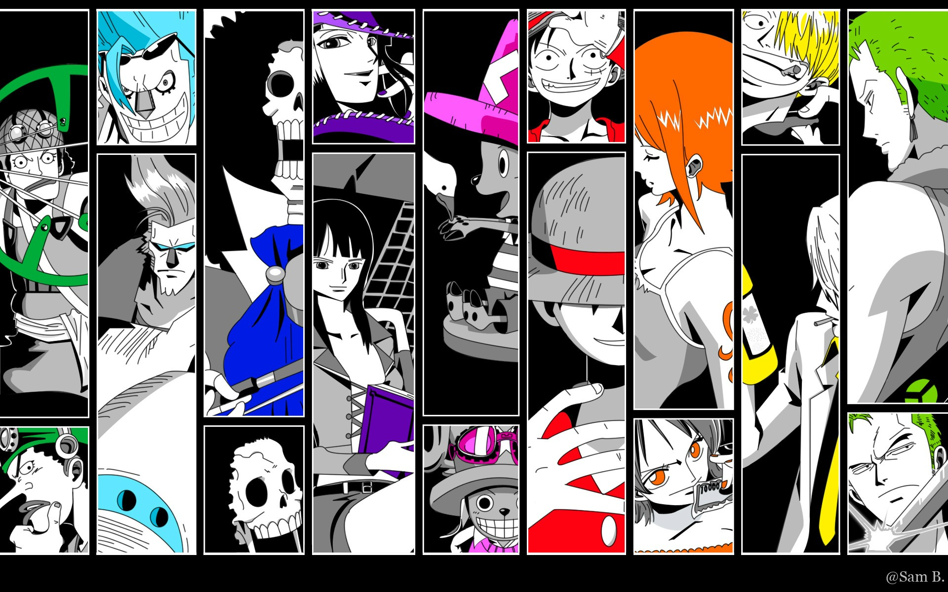 One Piece Hd Wallpaper Background Image 1920x1200 Id