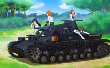 Anime - Girls Und Panzer Wallpapers and Backgrounds ID : 410278