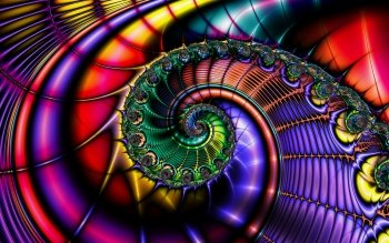Abstracto - Fractal Wallpapers and Backgrounds ID : 410522