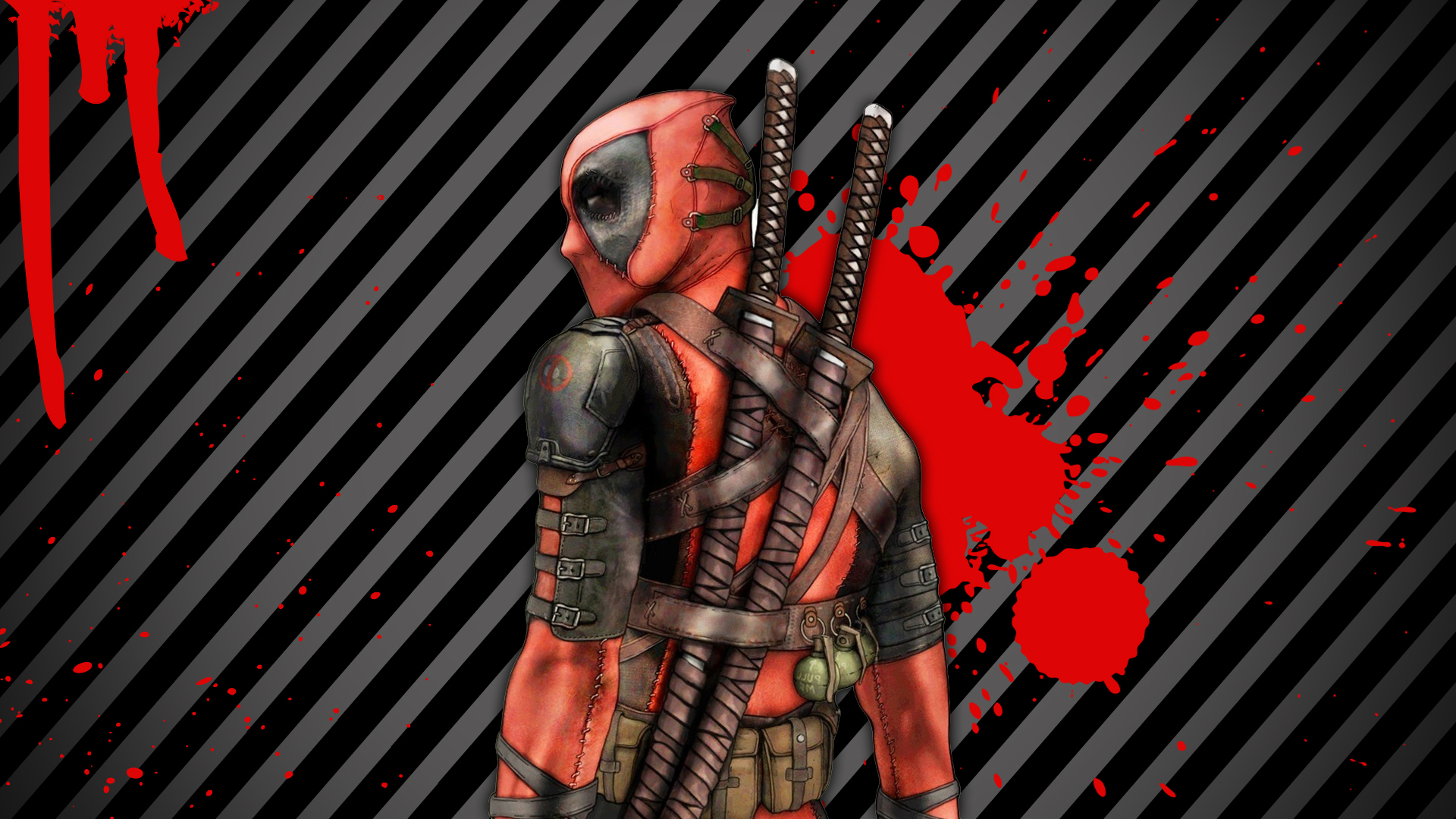 Deadpool Hd Wallpaper Background Image 1920x1080 Id 411169