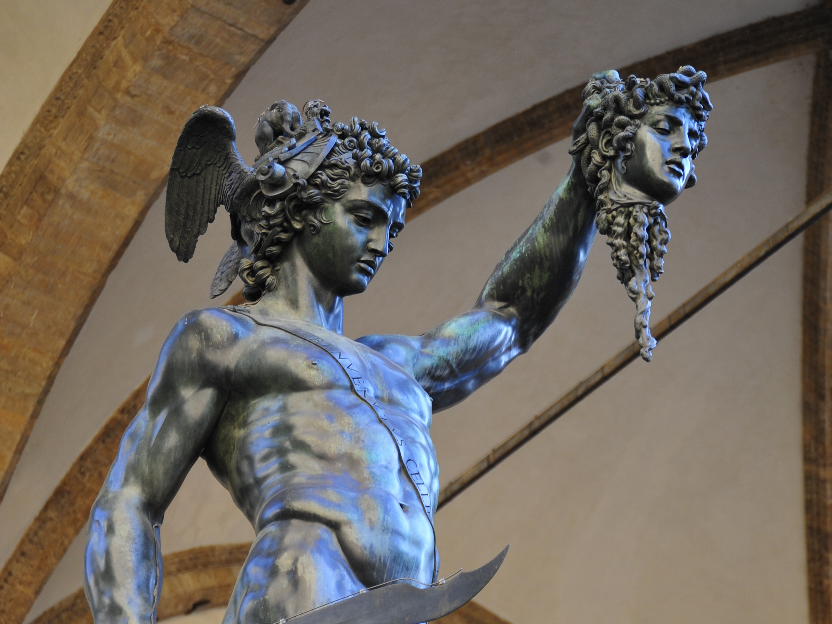 Perseus With The Head Of Medusa Photograph by Marilyn Burton  |Perseus With The Head Of Medusa Painting