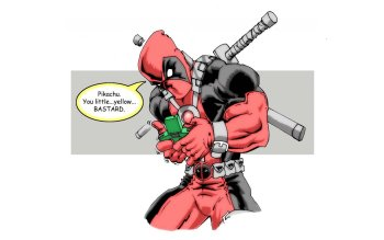 Comics - Deadpool Wallpapers and Backgrounds ID : 412885