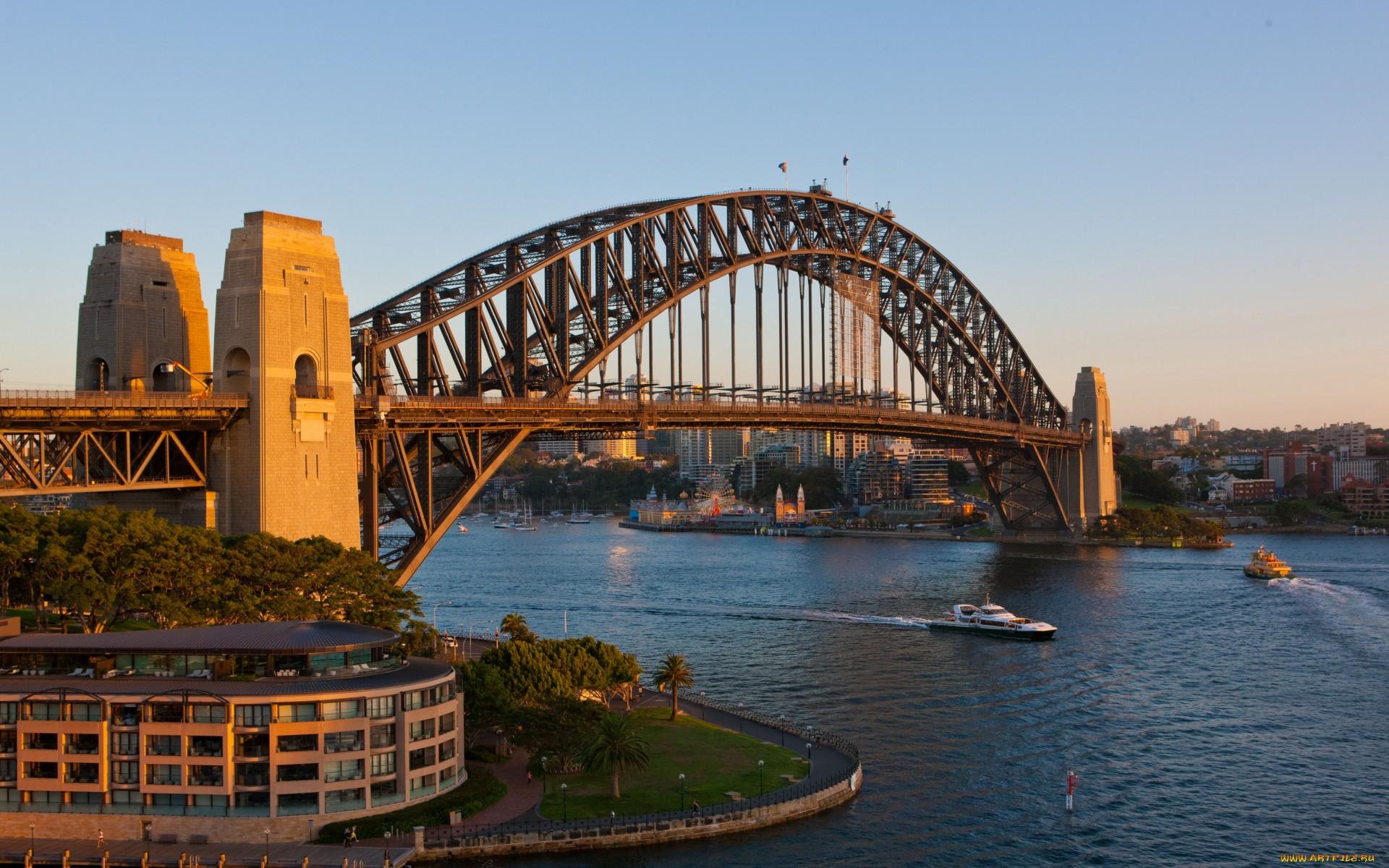 Sydney Harbour Bridge Hd Wallpaper Background Image 1920x1200