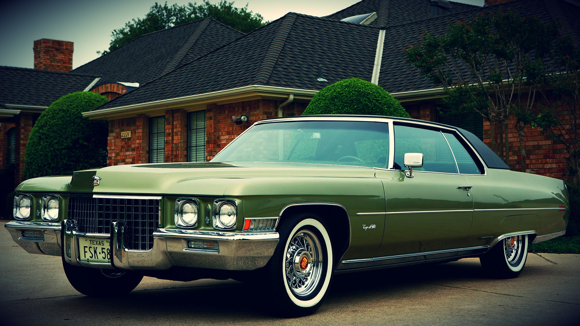1 1971 Cadillac Coupe Deville HD Wallpapers | Backgrounds ...