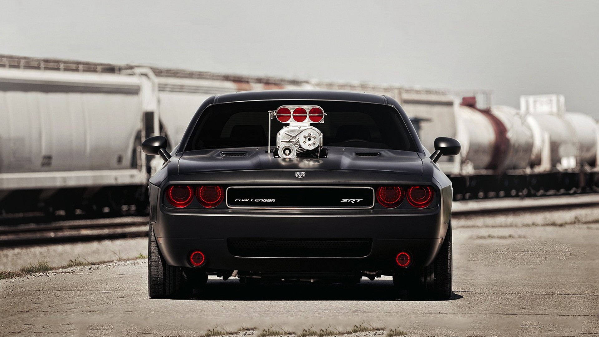 Dodge Challenger Srt Hd Wallpaper Background Image 1920x1080