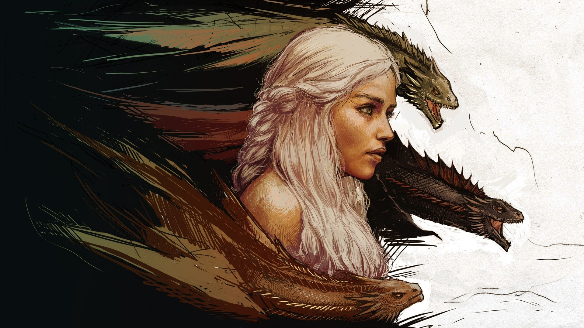 Game Of Thrones Daenerys Wallpaper: Game Of Thrones HD Wallpaper