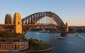 Sydney Harbour Bridge · HD Wallpaper   Background Image ID:413306