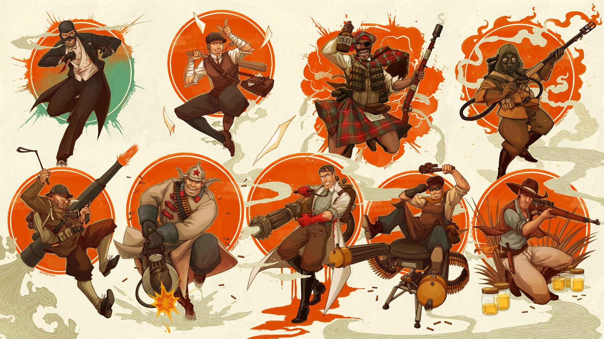 Team Fortress 2 Full HD Wallpaper and Background Image ...