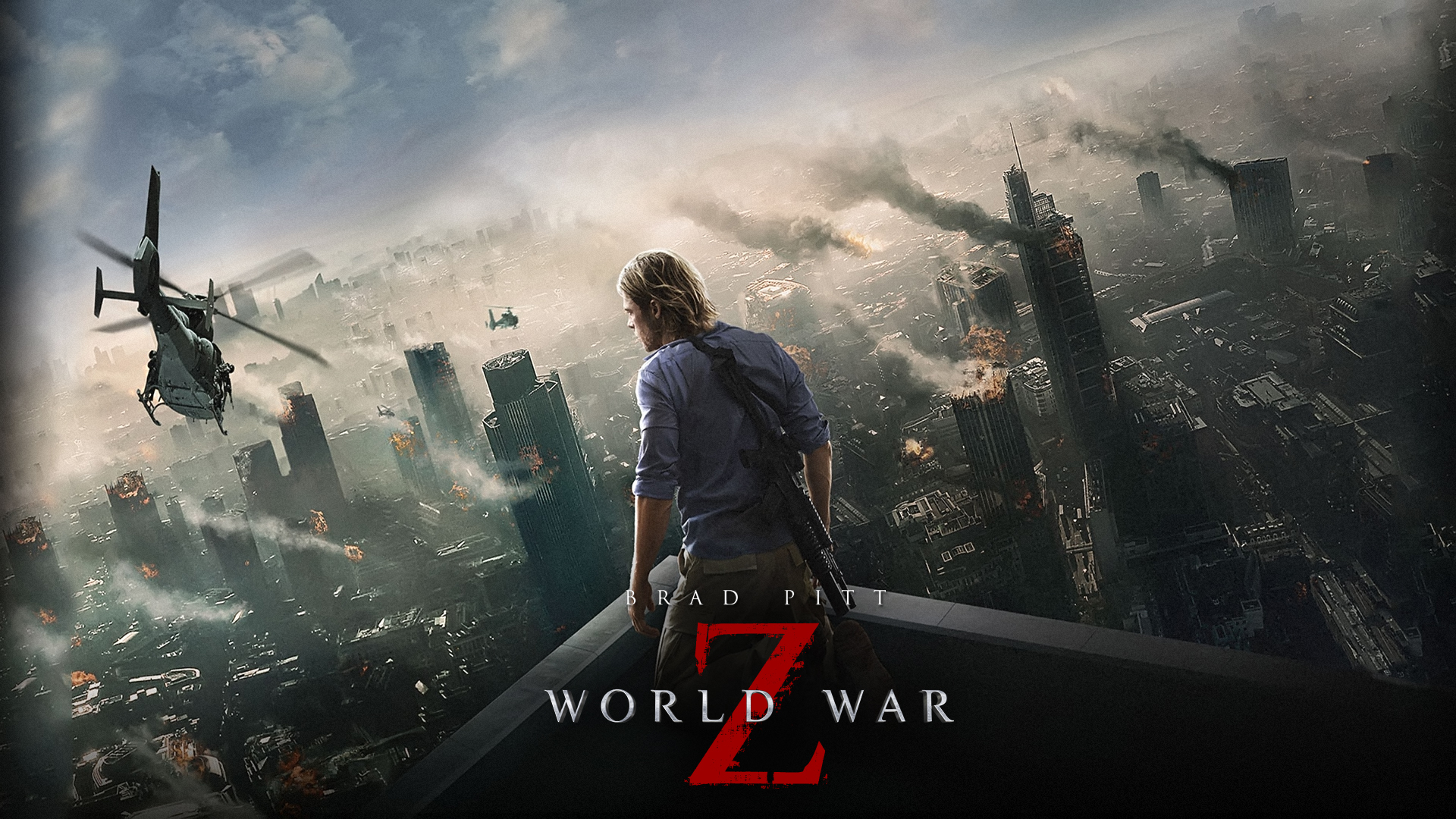 World War Z 2013 3D HSBS Sample Movie