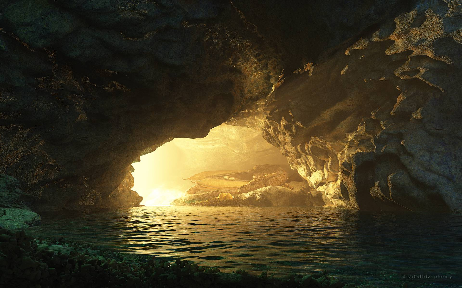 Wallpapers En Hd: Cave Full HD Wallpaper And Background Image