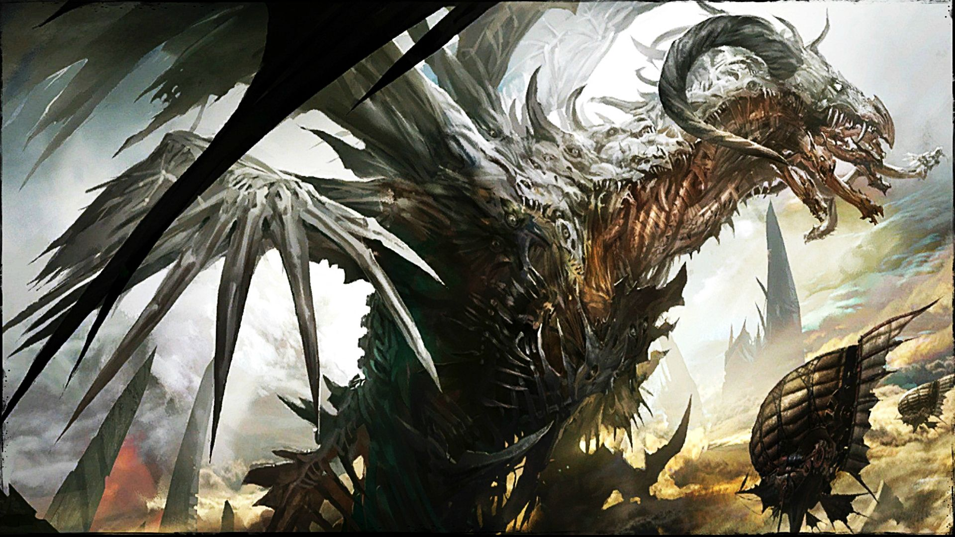 guild wars 2 zhaitan wallpaper 1143246