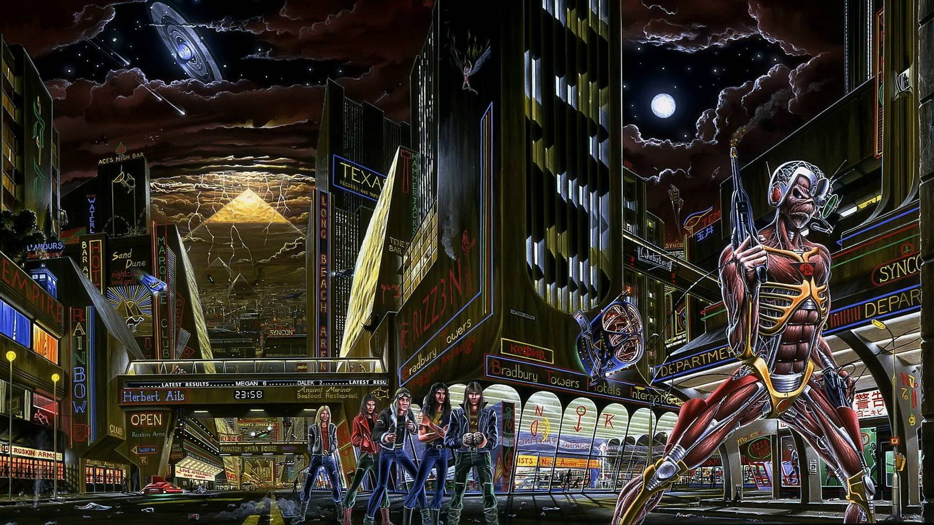 Iron Maiden Full HD Wallpaper And Background Image