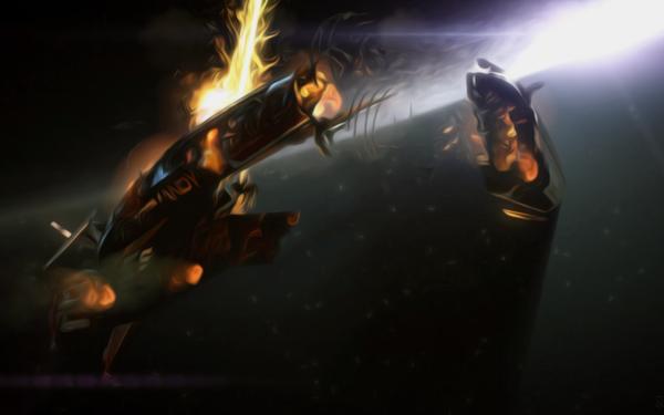 Video Game Mass Effect 2 Mass Effect Normandy SR-1 HD Wallpaper | Background Image