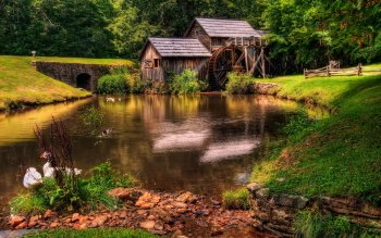 Man Made - Grist Mill Wallpapers and Backgrounds ID : 416659