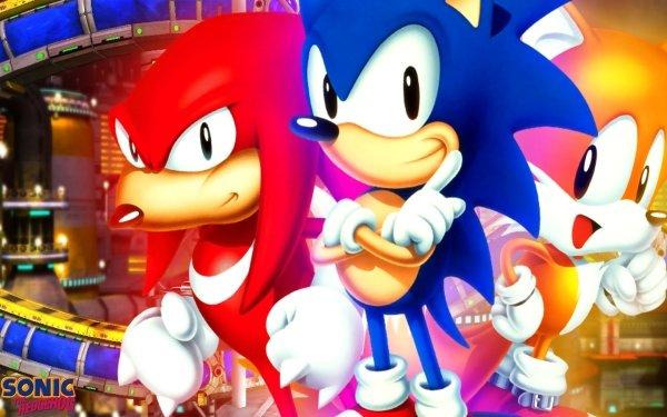 """Jeux Vidéo Sonic the Hedgehog 3 & Knuckles Sonic Knuckles the Echidna Miles """"Tails"""" Prower Sonic le hérisson Fond d'écran HD   Arrière-Plan"""