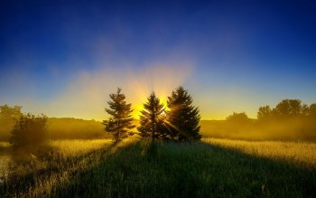 Earth - Sunbeam Wallpapers and Backgrounds ID : 417341