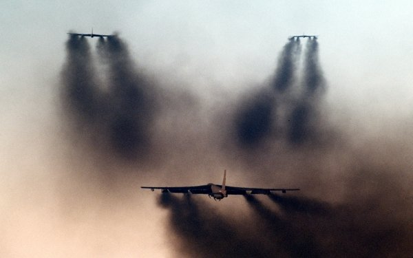 Military Boeing B-52 Stratofortress Bombers HD Wallpaper   Background Image