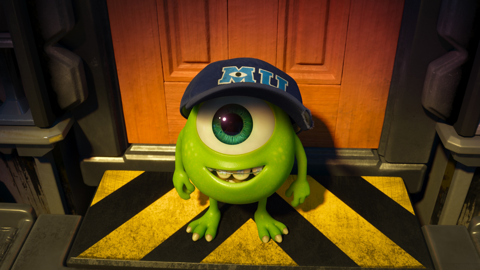 Wallpaper iphone monster university - Movie Monsters University Mike Wazowski Wallpaper