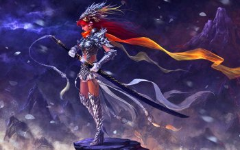 Fantasy - Women Warrior Wallpapers and Backgrounds ID : 418037