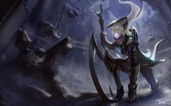 Video Game League Of Legends Diana HD Wallpaper | Background Image