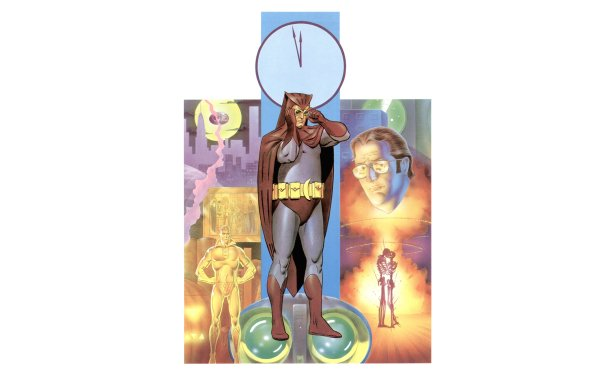 Comics Watchmen Owlman HD Wallpaper   Background Image