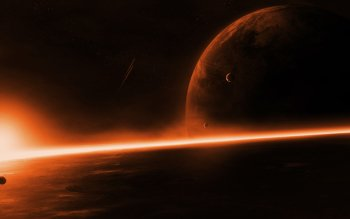 Sci Fi - Planetscape Wallpapers and Backgrounds ID : 419636